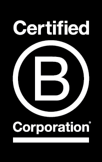 We're a B Corp! - We're proud to be a Certified B Corporation®.B Corporations are leaders of the global movement of people using business as a force for good.TMThere are over 2,200 Certified B Corporations from more than 130 industries in 50+ countries with 1 unifying goal – to redefine success in business.B Corps are important because they inspire all businesses to compete not only to be the best in the world, but to be the best for the world.Certified B Corporations meet higher standards of social and environmental performance, transparency, and accountability.It's like Fair Trade certification but for the whole business, not just a bag of coffee (or USDA Organic certification, but not just for a carton of milk; or LEED certification, but not just for a building).The performance standards B Corps meet are comprehensive, transparent and verified. They measure a company's impact on all its stakeholders (e.g. workers, suppliers, community, customers and the environment).Unlike traditional corporations, Certified B Corporations are legally required to consider the impact of their decisions not only on their shareholders, but also on their stakeholders (e.g., workers, suppliers, community, consumers, and the environment).