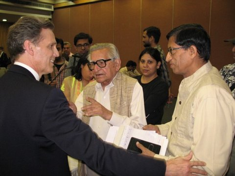 Theory of Reality Talk    At India International Centre    View Post