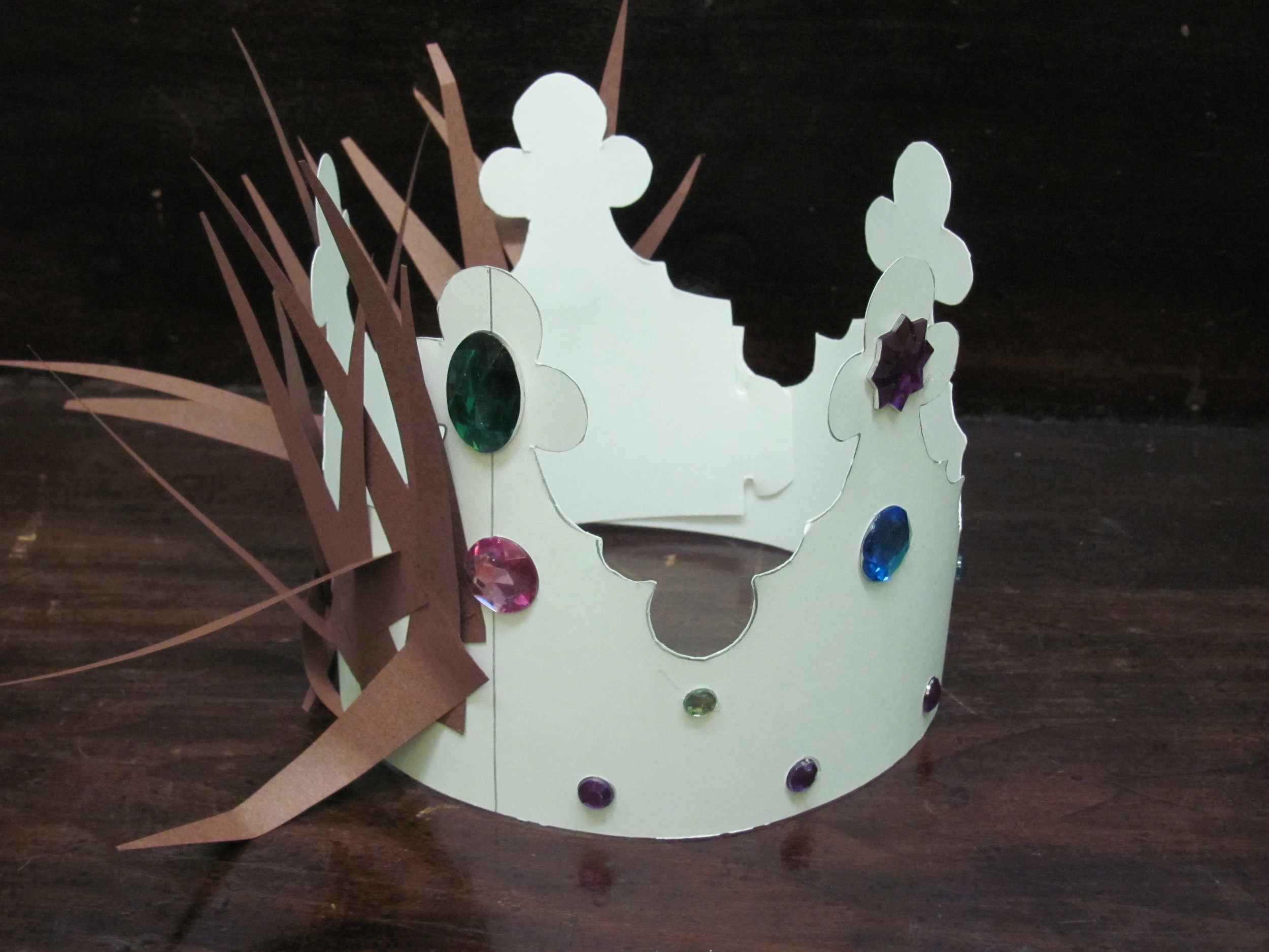 Crown of thorns crown of glory art project sojournkids for Art and craft crown