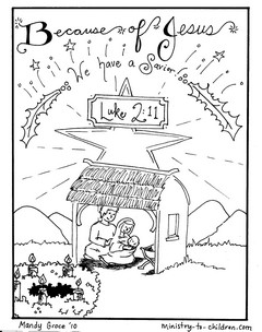 Coloring Book for the Advent Season — SojournKids