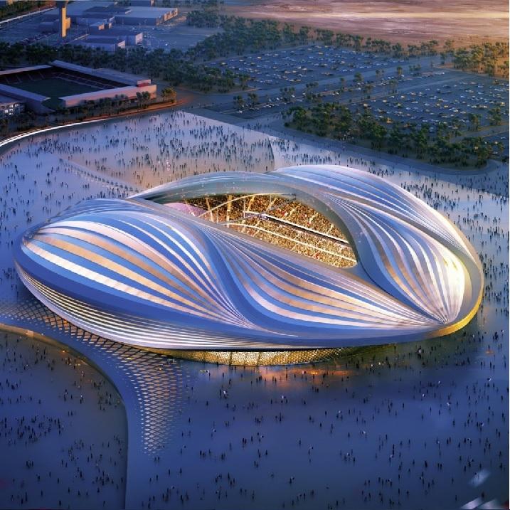 Al Wakrah Stadium     QATAR