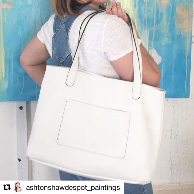 We love getting love from our favorite artist! @ashtonshawdespot_paintings