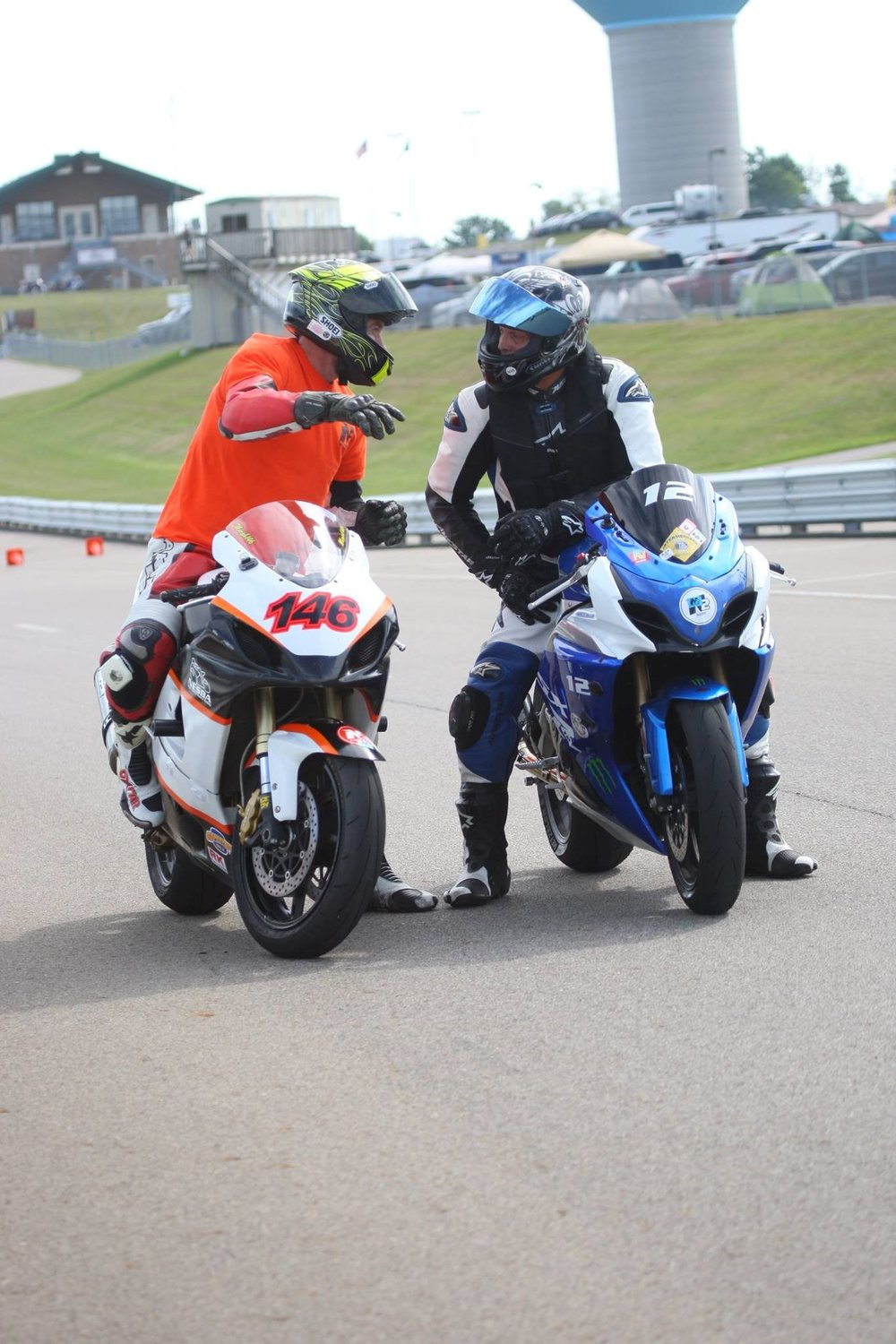 After each session a control rider will find you if they got to observe you riding
