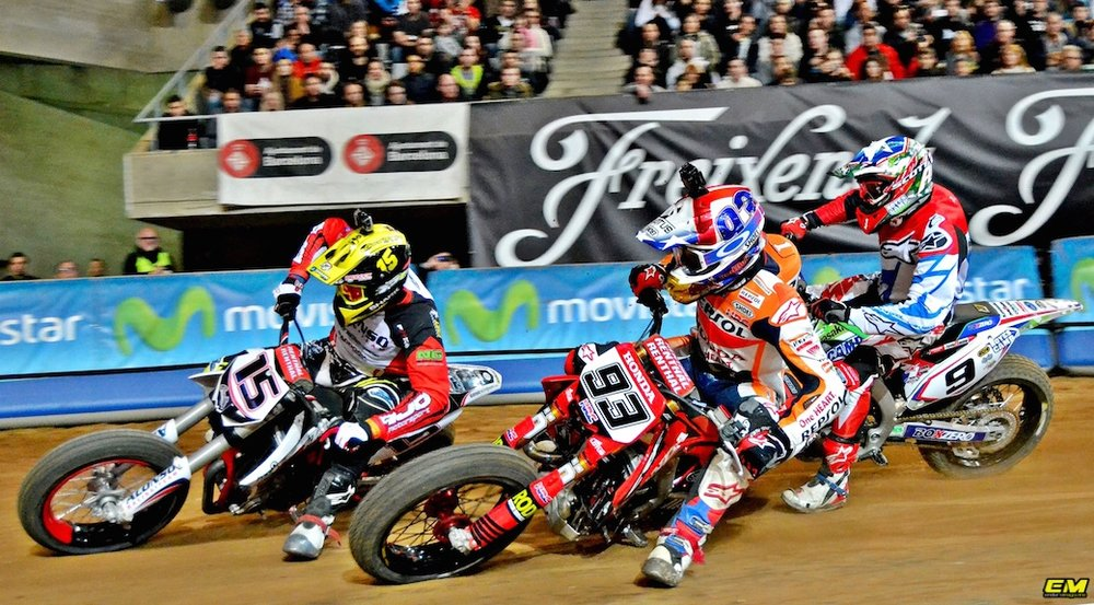 Marc Marquez Racing Flat Track