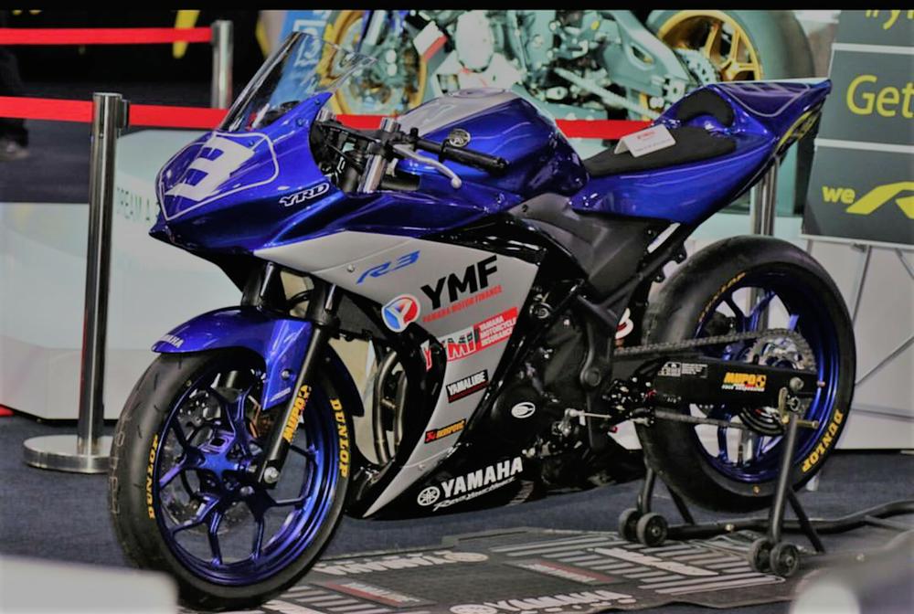 Garret Parker's Ultra-lightweight Yamaha R3 Superbike