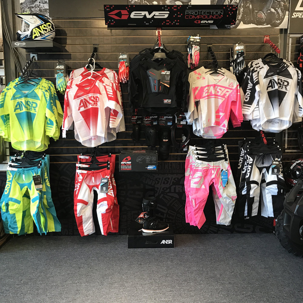 ANSWER youth off road jerseys pants gloves