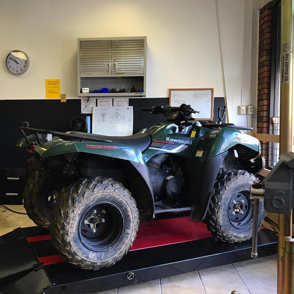 Kawasaki ATV repair salisbury maryland eastern shore