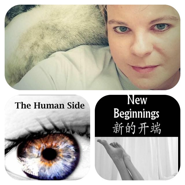 """The Human Side"" and ""New Beginnings"" by Cori Garrison."