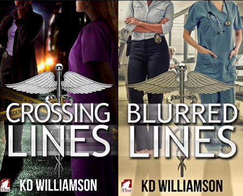 """Crossing Lines"" and ""Blurred Lines"" by KD Williamson."