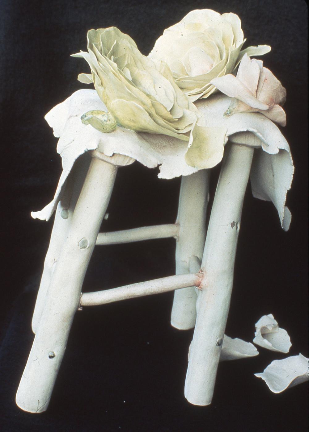 Rose on Table 18x12x12 1978.jpg