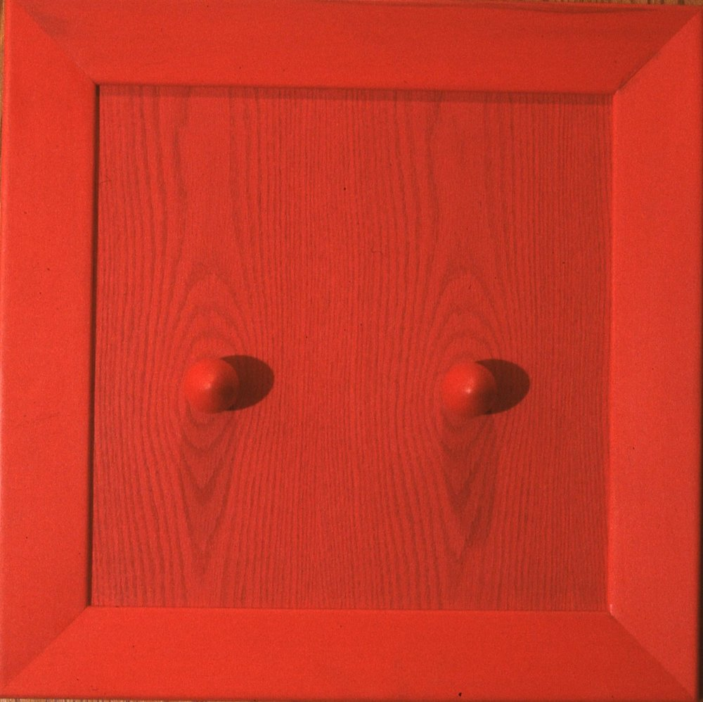 """Red Eggs  20""""x20""""x2"""""""