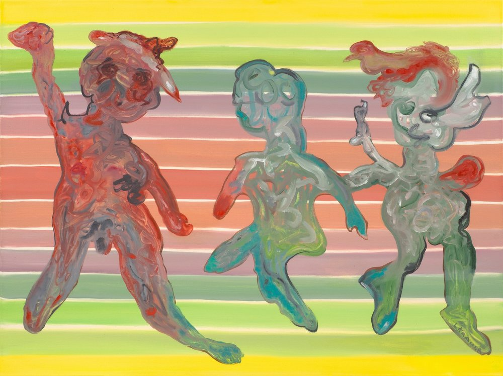 """The Three Graces 20""""x30"""" oil on canvas 2012"""