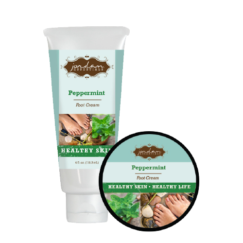 happy feet peppermint foot cream