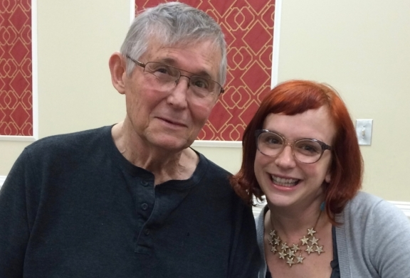 Dr. Rentz and me, visiting West Gate Family Therapy Institute in 2015