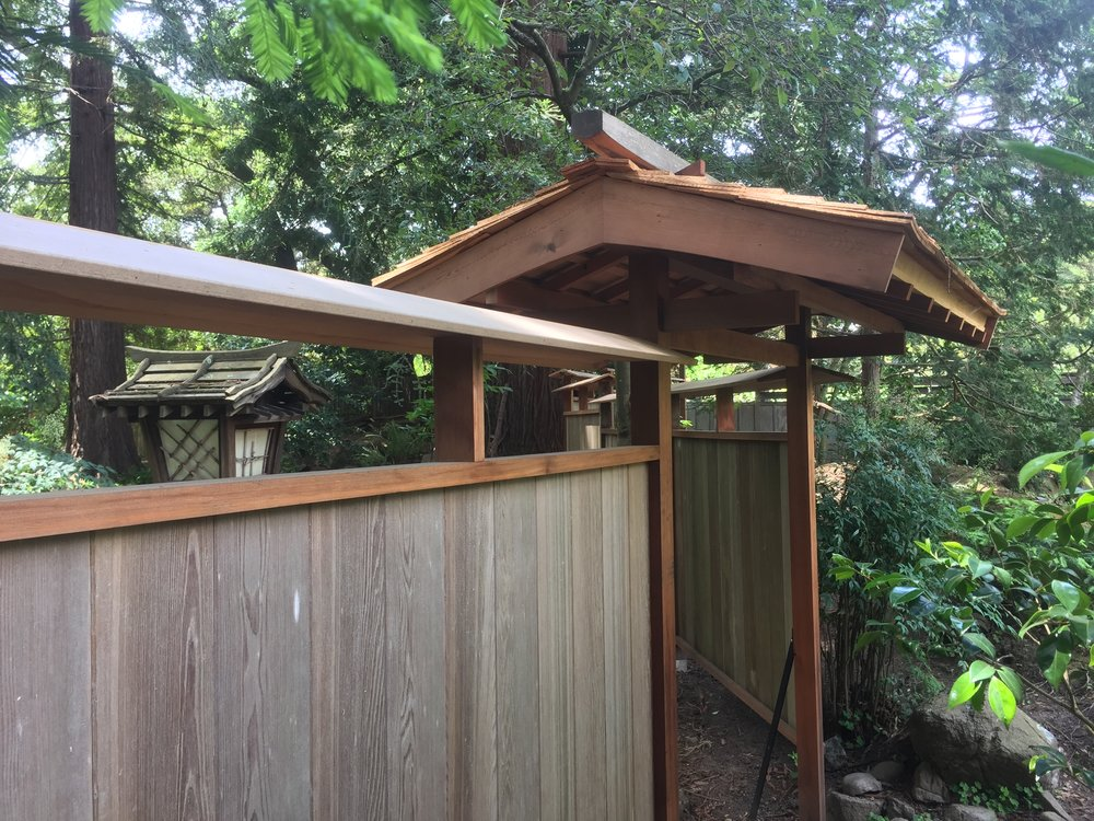 Japanese Garden Fence Design find this pin and more on garden gates fence in the japanese style Img_0610jpg