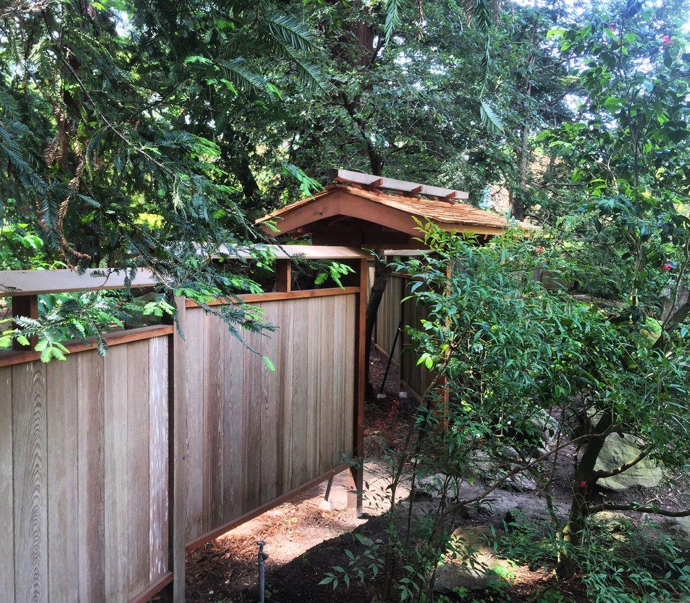 Design Japanese Fence japanese garden fence rebuild perspective design build img 0631 jpg