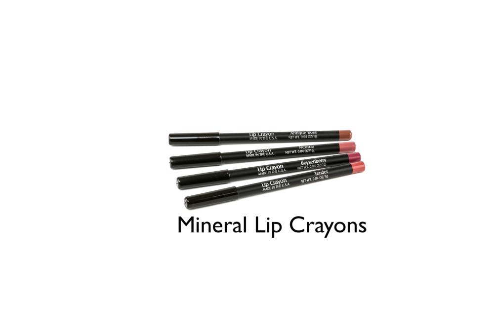 Mineral Lip Crayons