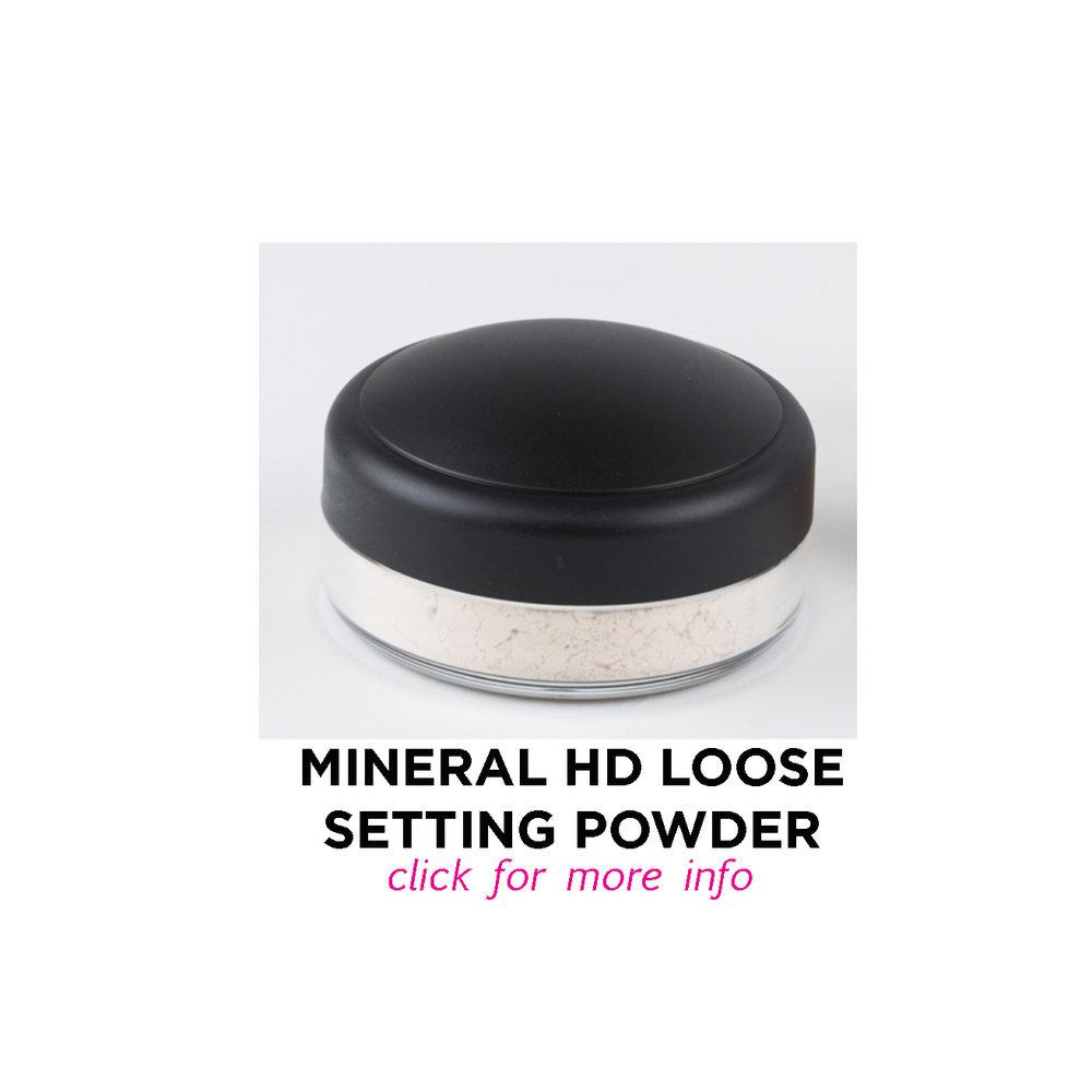 Mineral HD Loose Setting Powder