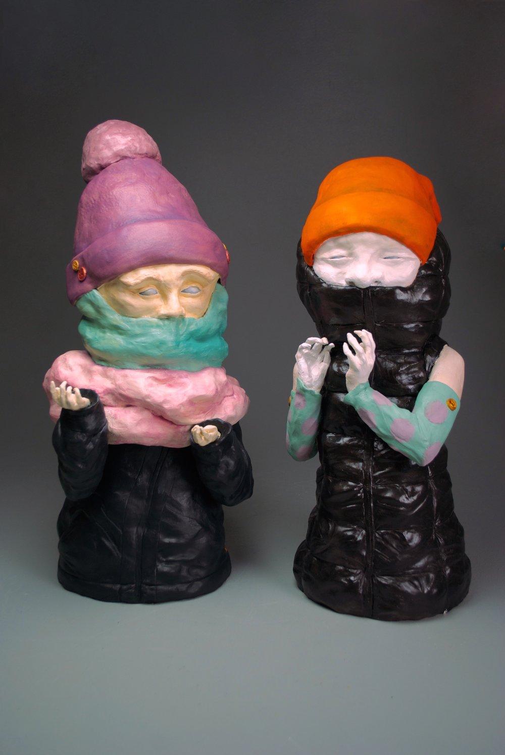 stephanie & valerie (sold pair)