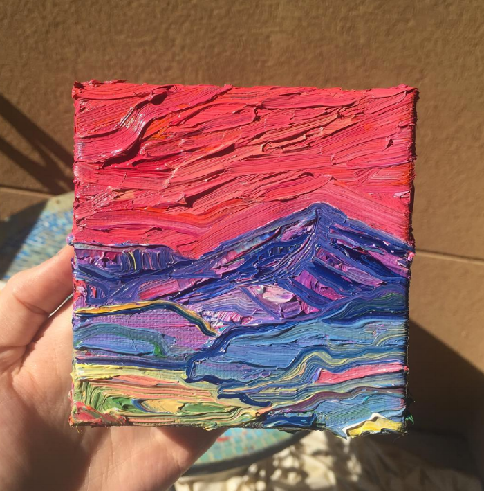 mt elbert 14er becky jewell painting.png