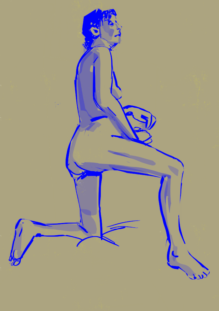 10 minute pose