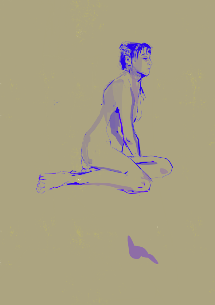 25 minute pose