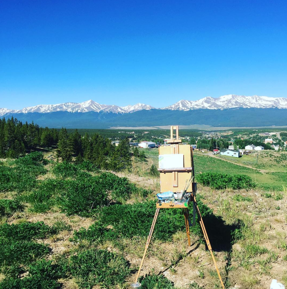plein air painting Leadville Colorado.png