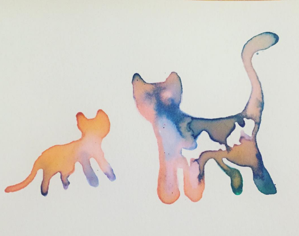 Cat Friends Ink Art - by Becky Jewell.png