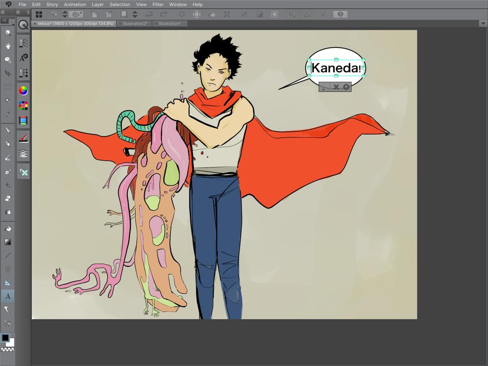 Clip Studio Paint - Akira Fan Art.PNG