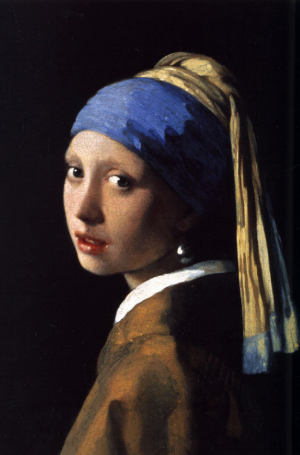 Though not at the D.C show right now, Vermeer's  Girl with a Pearl Earring  is among his best-known works, and carries hints on Vermeer's interest in painting non-grandiose subject matter. She's could be anybody, yet you get the feeling that she is somebody.