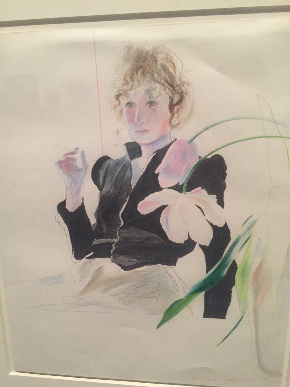 David Hockney drawing flowers portrait.JPG