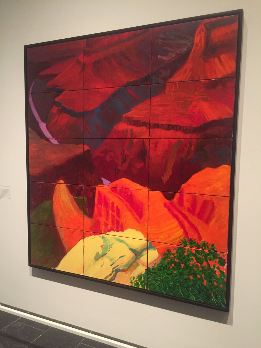 David Hockney Grand Canyon Painting.JPG