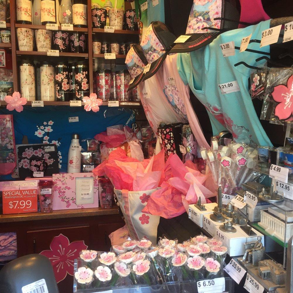 cherry blossom festival souveniers.JPG