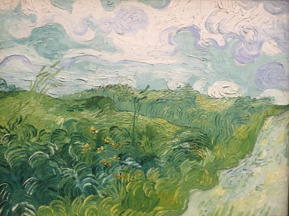 van gogh up close washington dc national gallery.JPG