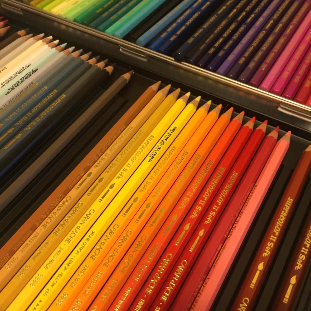 Caran D'Ache Supracolor Watercolor Pencils.JPG