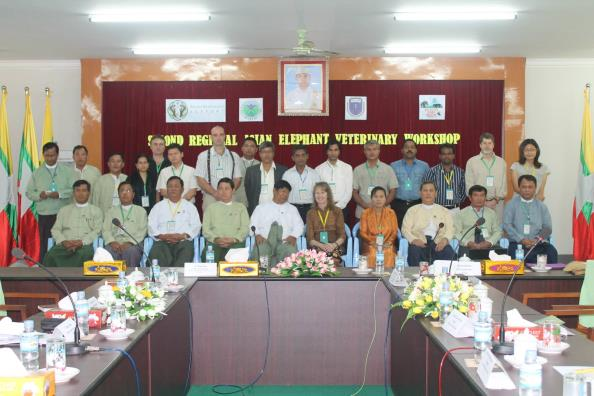 Second Regional Asian Elephant Veterinary Workshop Participants