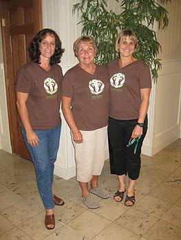 Directors April, Linda, and Sharon