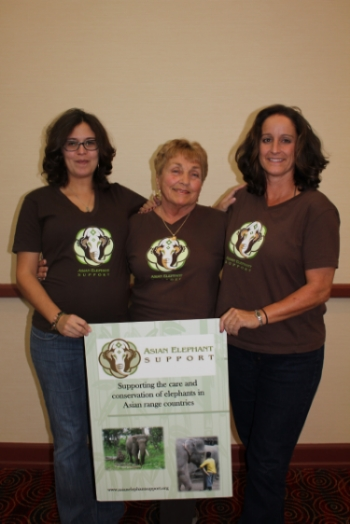 Director Vanessa Gagne, President Linda Reifschneider, and Vice President April Yoder
