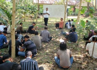 Training on field navigation
