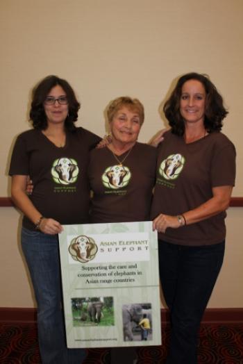 Director Vanessa Gagne, President Linda Reifschneider, and Vice President April Yoder