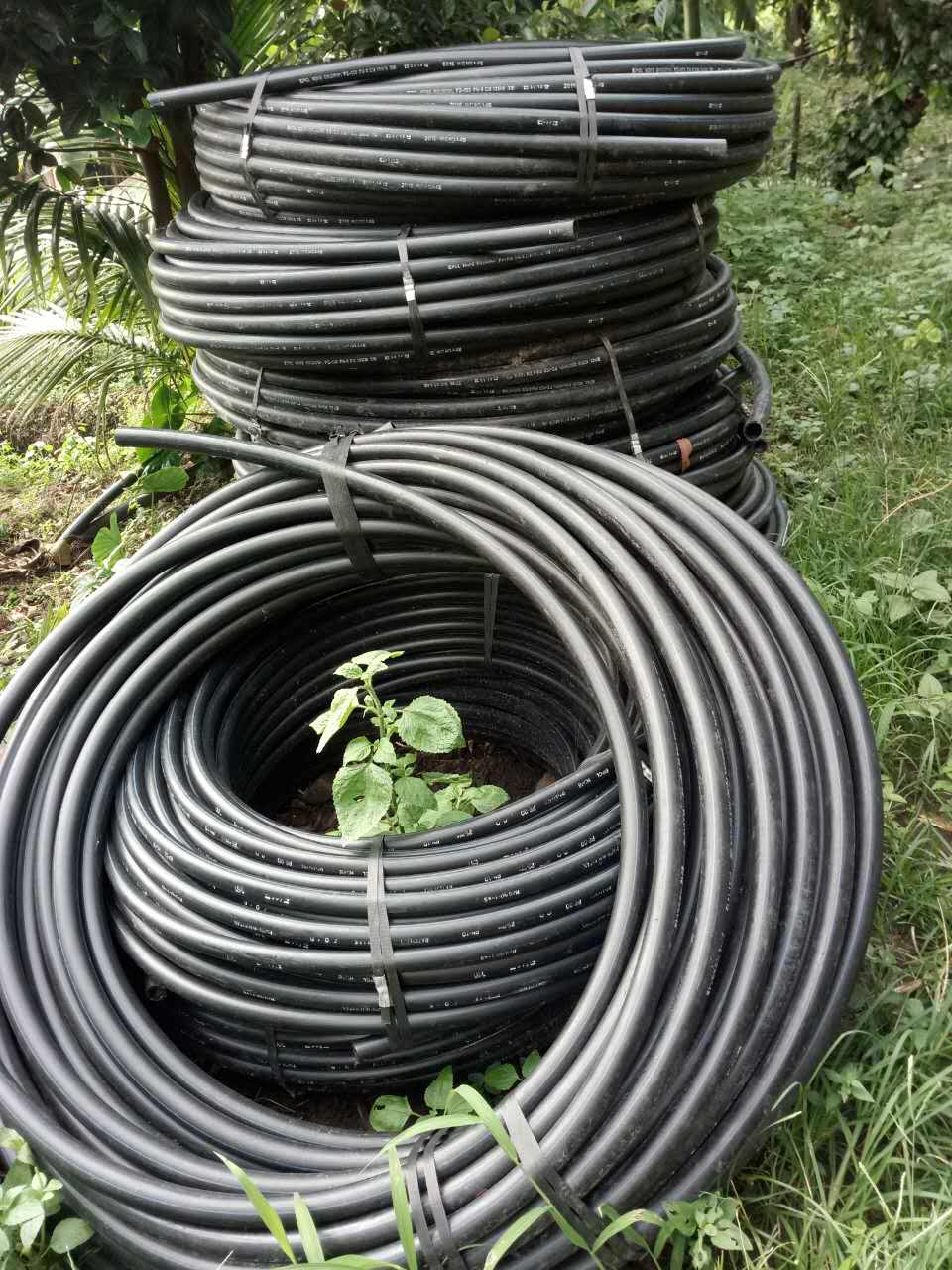 HDPE piping supplies for the water systems