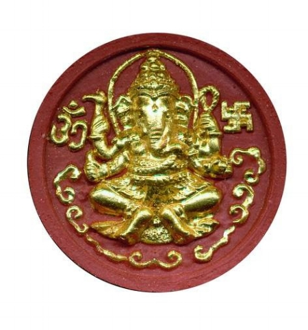 The elephant God, Ganesh, is often depicted holding an ankus
