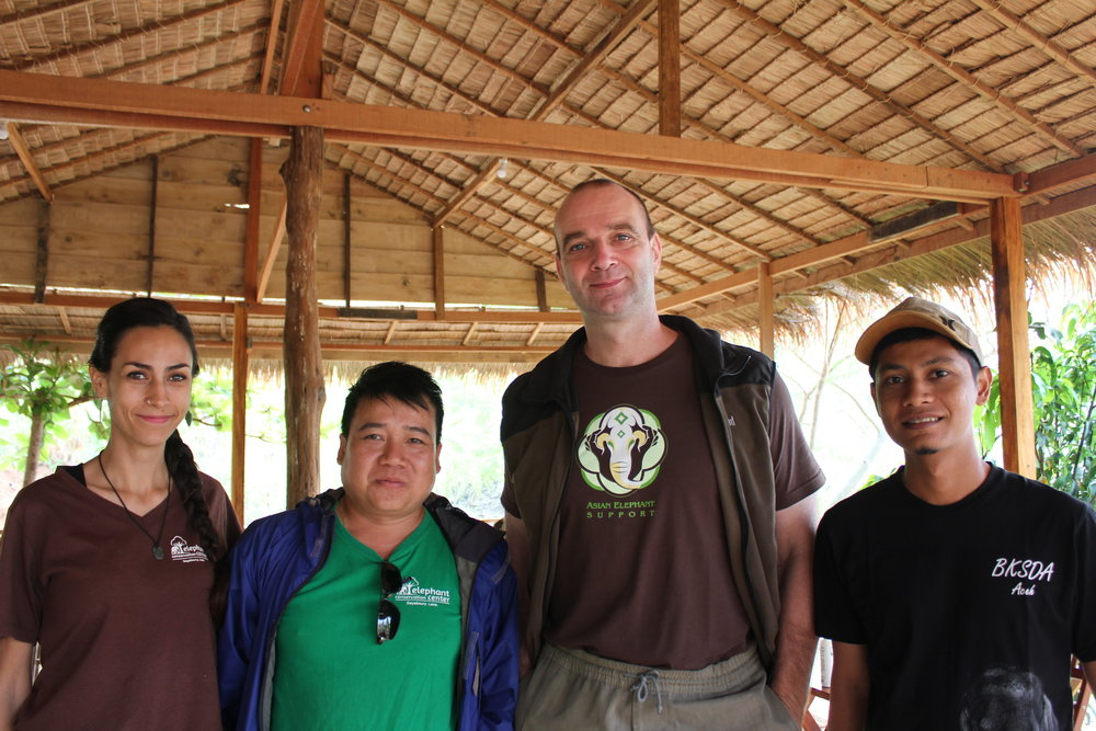 Anabel, Kan, Christopher, Mahout from Sumatra CRU
