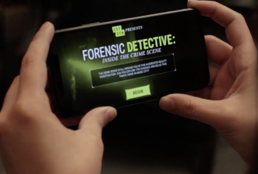 Element X - Acclaimed Augmented Reality ExperienceWas the sole developer on an augmented reality crime scene investigation game, Forensic Detective. This project was completed for a major television network and has received significant accolades from sites like POPSUGAR.COM.
