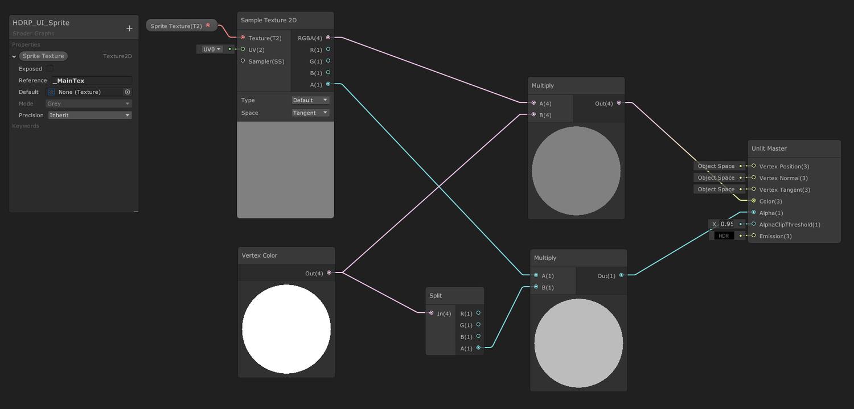 HDRP Image Shader Graph