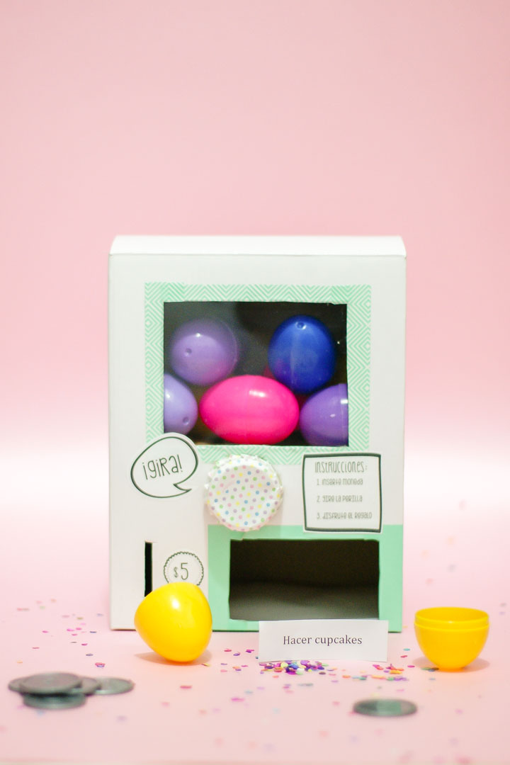 DIY Idea: Máquina de Huevitos Sorpresa - Egg Surprise Vending Machine