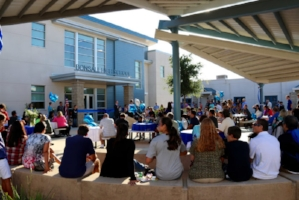 BONSALL – Hundreds of enthusiastic community supporters attended the official grand opening of Bonsall High School's (BHS) new 18,000 square foot facility on West Lilac Road on Aug. 23, 2016.