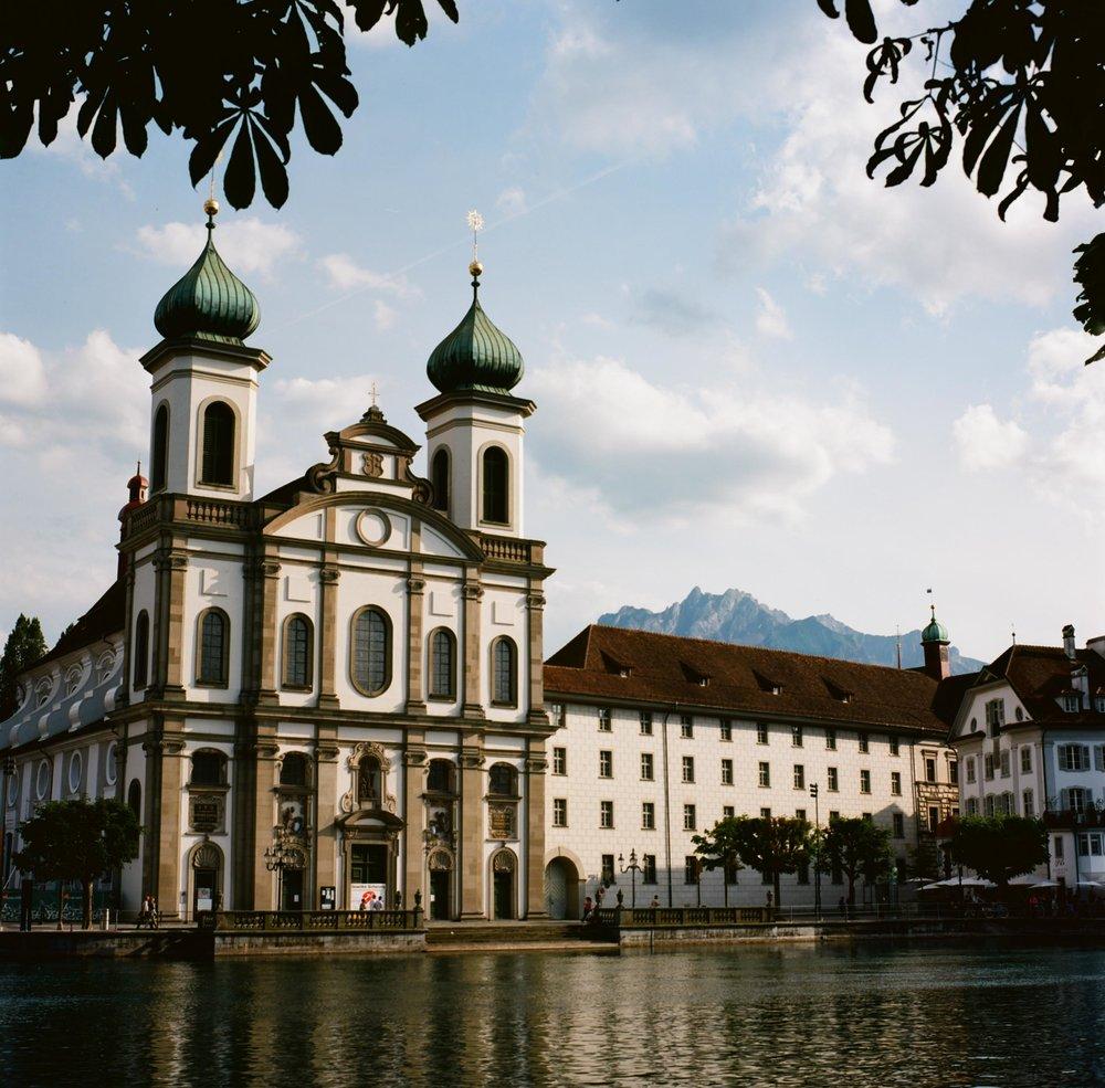 Jesuitenkirche, Luzern, Switzerland