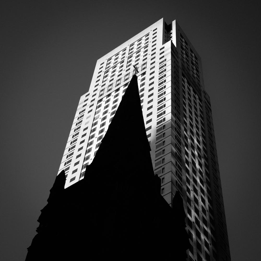 Saint Patrick's Silhouette - NYC
