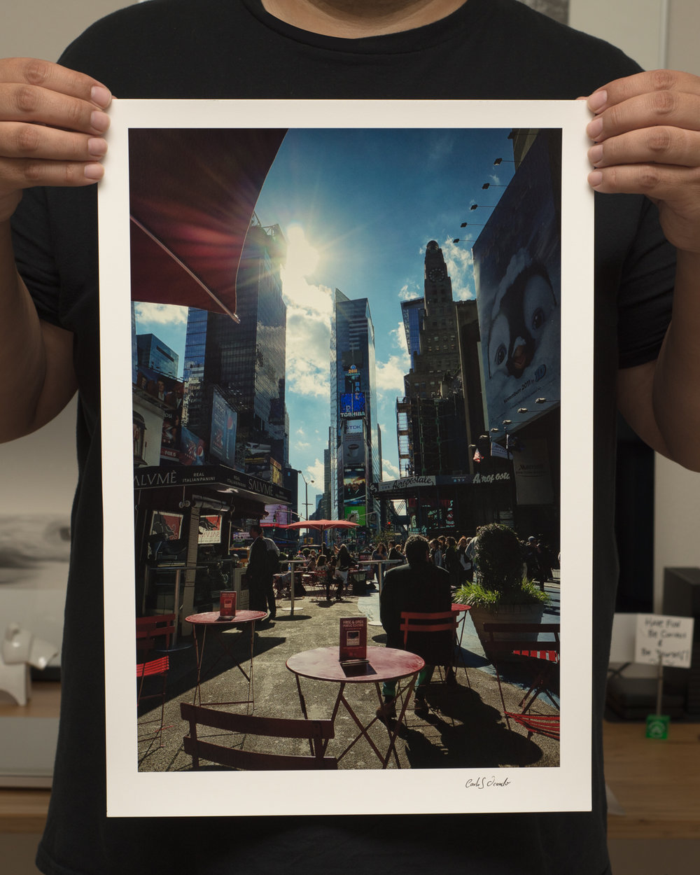 This is one is one of my favorites from New York City. Printed on Canson Platine, this is a luster paper that I love to use for B&W and Color Photography.